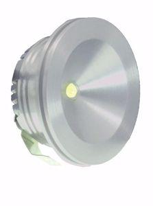 Picture of SIKREA LED LUK/A30 RECESSED LED SPOTLIGHT ALUMINIUM 1W 3000K