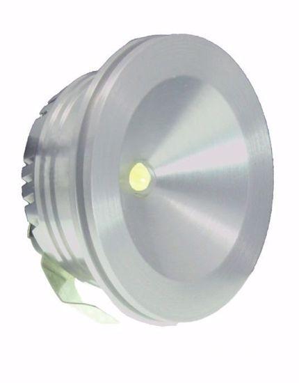 Picture of SIKREA LED LUK/A40 RECESSED LED SPOTLIGHT ALUMINIUM 1W 4000K