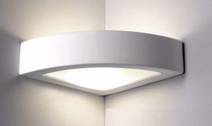 Picture of APPLIQUE LED ANGOLARE 12W 4000K DIFFUSORE IN VETRO