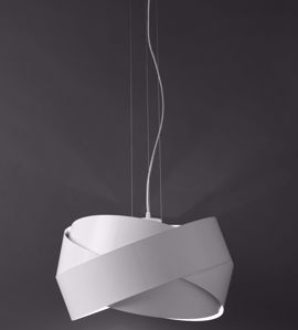 Picture of DIVISUAL TRILOGY SUSPENSION Ø53CM IN WHITE METAL