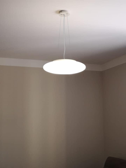 Picture of IDEAL LUX SMARTIES WHITE PENDANT LAMP SP3 D50
