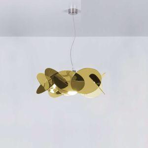 Picture of EMPORIUM SUSPENSION MAXI BEA Ø90 3 LIGHT GOLD