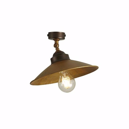Picture of GIBAS RUA RUSTIC WALL LAMP IN METAL 24CM
