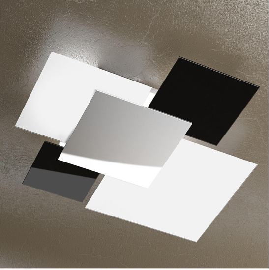 Picture of TOP LIGHT SHADOW CEILING LAMP 91CM BLACK AND WHITE