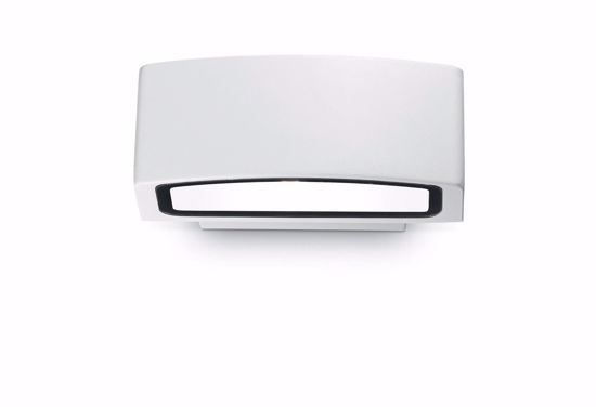 Picture of IDEAL LUX ANDROMEDA OUTDOOR WALL LAMP WHITE 1 LIGHT 22CM