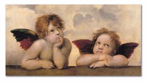 Picture of MANIE WALL ARTWORK ANGELS 70X40