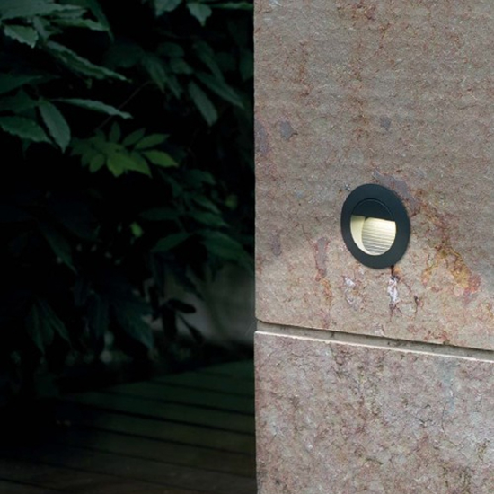 Picture of FARO MINI RACING OUTDOOR FOOTPATH WALL LED 1,2W 4000K DRIV INCL