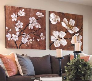 Picture of MANIE 2 WALL ARTWORKS ABSTRACT 120X120CM PRINT ON CANVAS